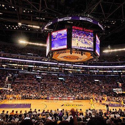 LA Lakers Staples